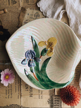 Load image into Gallery viewer, Vintage Floral Shorter & Sons Iridescent Bowl