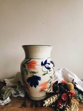 Load image into Gallery viewer, Vintage Devon Pottery Hand~painted Floral Vase