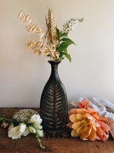Load image into Gallery viewer, Rustic Hand~Thrown Botanic Decorative Ceramic Vase