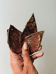 Rustic Copper & Brass Leaf