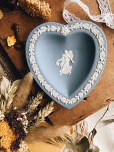 Load image into Gallery viewer, Vintage Blue Heart Wedgwood Dish