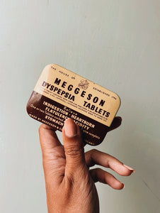 Vintage Meggeson Tin