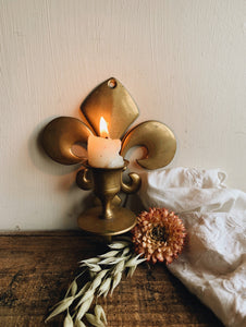 Vintage Decorative Candle Wall Holder