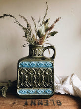 Load image into Gallery viewer, Vintage Green Decorative Kensington Stoneware  ~ Large Vase