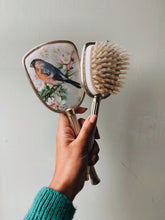 Load image into Gallery viewer, Vintage Bird Vanity ~ Mirror & Brush Set