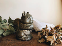 Load image into Gallery viewer, Antique Squirrel Money Pot