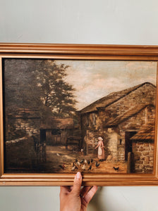 Antique G. Percival Gaskell circa 1880's Oil Painting (fine arts) UK & Ireland ShippIng ONLY