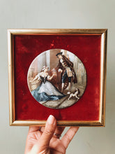 Load image into Gallery viewer, Vintage Staffordshire Vintage Enamel Illustration Artwork ~ 2