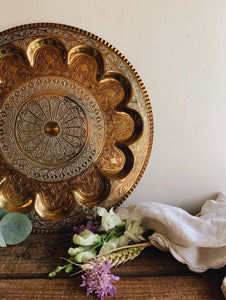 Vintage Decorative Gold / Silver (plated) Mix Tray