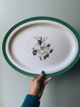 Load image into Gallery viewer, Vintage Large Woods & Sons Floral Platter Dish (UK Shipping only)