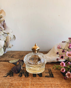 Vintage Crown Perfume Bottle