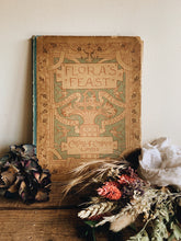 Load image into Gallery viewer, Antique Flora's Feast Book Cover