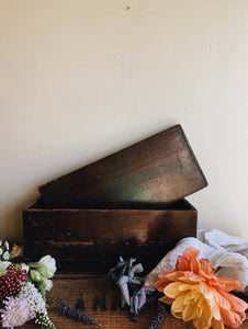 Antique Wooden Box / Tray