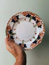 Load image into Gallery viewer, Vintage Floral Decorative Hand-engraved Staffordshire Side Plate