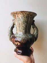 Load image into Gallery viewer, Large Vintage Green Glazed Urn