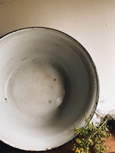 Load image into Gallery viewer, Extra Large Vintage Enamel Bowl