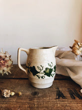 Load image into Gallery viewer, Antique late 1800's Cream Ivy Jug