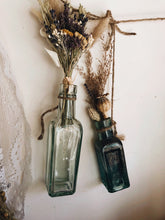 Load image into Gallery viewer, Two Antique Blue Bottles