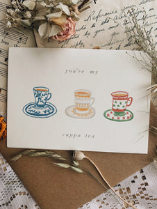 K Yung Hand Illustrated Gifting Cards ~ Various Selection