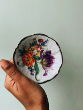 Load image into Gallery viewer, Vintage Fine China Poppy & Blooms Trinket Dish