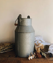 Load image into Gallery viewer, Vintage Rustic Milk Churn with Wooden Handle
