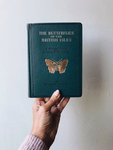 Vintage Book 1940s ~ The Butterflies of the British Isles ~ Richard South