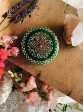 Load image into Gallery viewer, Vintage Decorative Green Tin