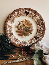 Load image into Gallery viewer, Vintage Royal Worcester Two Partridges (game collection) Plate