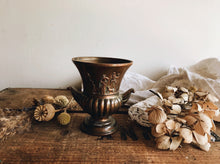 Load image into Gallery viewer, Antique Brass / Rose Urn