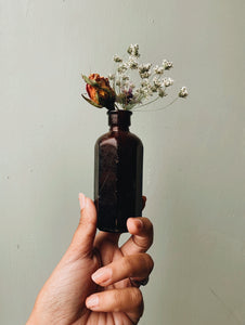 Antique Early 1900's Apothecary Bottle
