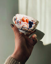 Load image into Gallery viewer, Antique Hand Engraved / Painted Fine Bone China Decorative Cup