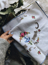 Load image into Gallery viewer, Parisian Embroidery and crochet Linen