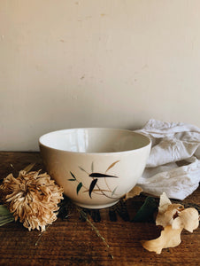 Vintage R. Doulton Bamboo Bowl