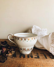 Load image into Gallery viewer, Antique Bone China Decorative Cup