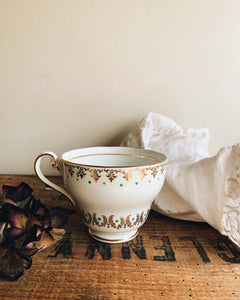 Antique Bone China Decorative Cup