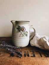 Load image into Gallery viewer, Rustic Hand~thrown Floral Jug / Vase