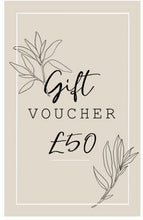 Load image into Gallery viewer, S&S Gift Vouchers