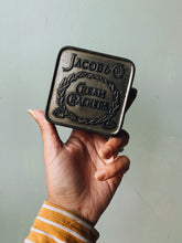 Load image into Gallery viewer, Vintage Jacob Crackers Tin