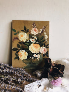 Flowers in Vase Oil Painting
