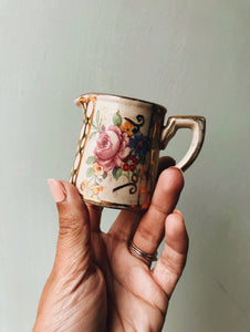 Antique Floral Jug
