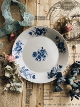 Load image into Gallery viewer, Vintage Blue Rose  Plate