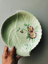 Load image into Gallery viewer, Vintage 1930's Carlton Green & Yellow Floral Dishes ~ sold separately