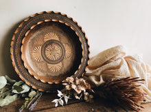 Load image into Gallery viewer, Vintage Hand~carved Decorative Wooden Bowl / Dish or Motif