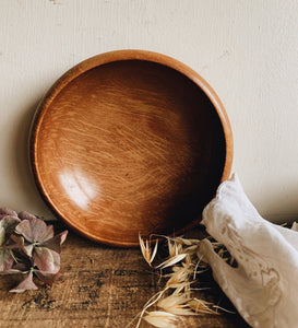 Rustic Decorative Wooden bowls (four available / sold separately)