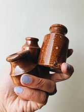 Load image into Gallery viewer, Three Vintage Salt Glaze Pots