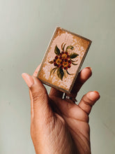 Load image into Gallery viewer, Vintage Floral Matchbox Holder