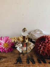 Load image into Gallery viewer, Vintage Art Deco Glass Perfume Bottle