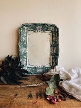 Load image into Gallery viewer, Antique St Kilda Teal Decorative Dish ~ Lincoln Pottery