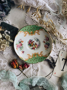 Antique Paragon Paradise Bird Saucer