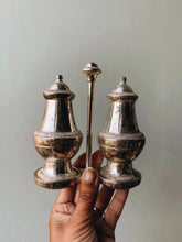 Load image into Gallery viewer, Antique Salt & Pepper (with holder)